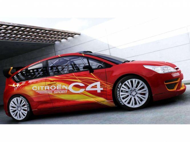 Citroen C4 Sport Concept 2004 wallpaper