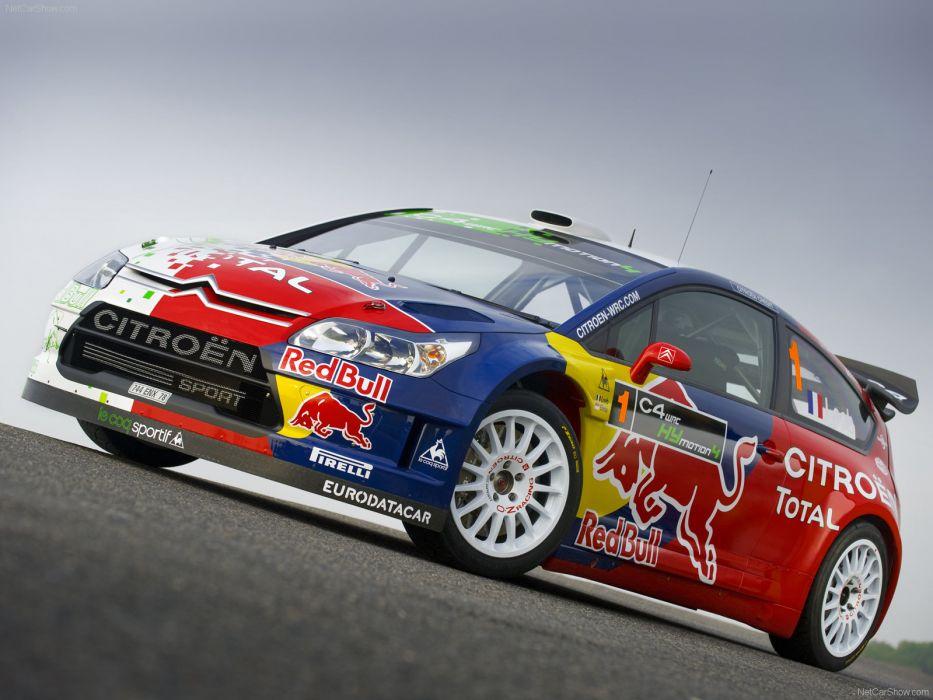 Citroen C4 WRC HYmotion4 Concept 2008 wallpaper