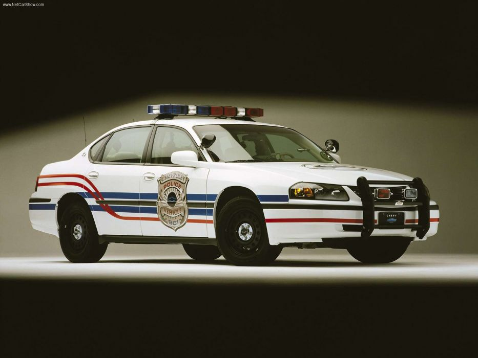 Chevrolet Impala Police Package 2001 wallpaper