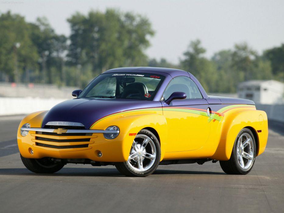 Chevrolet SSR Hot Rod Power Tour Concept 2003 wallpaper