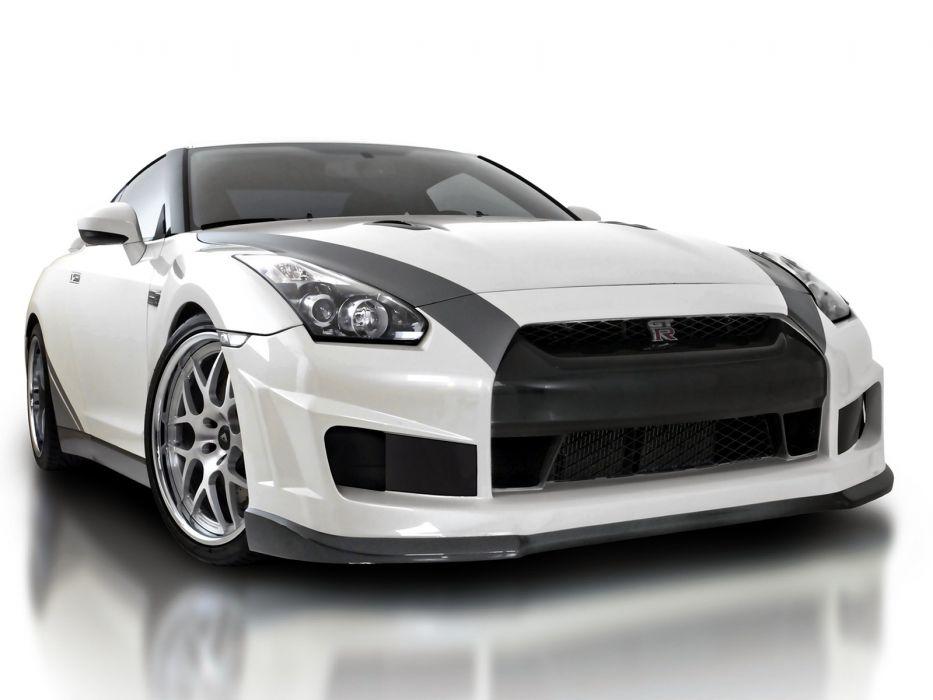 cars Nissan GT-R R35 wallpaper