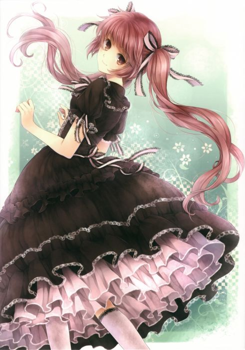 Gothic gothic dress anime girls wallpaper