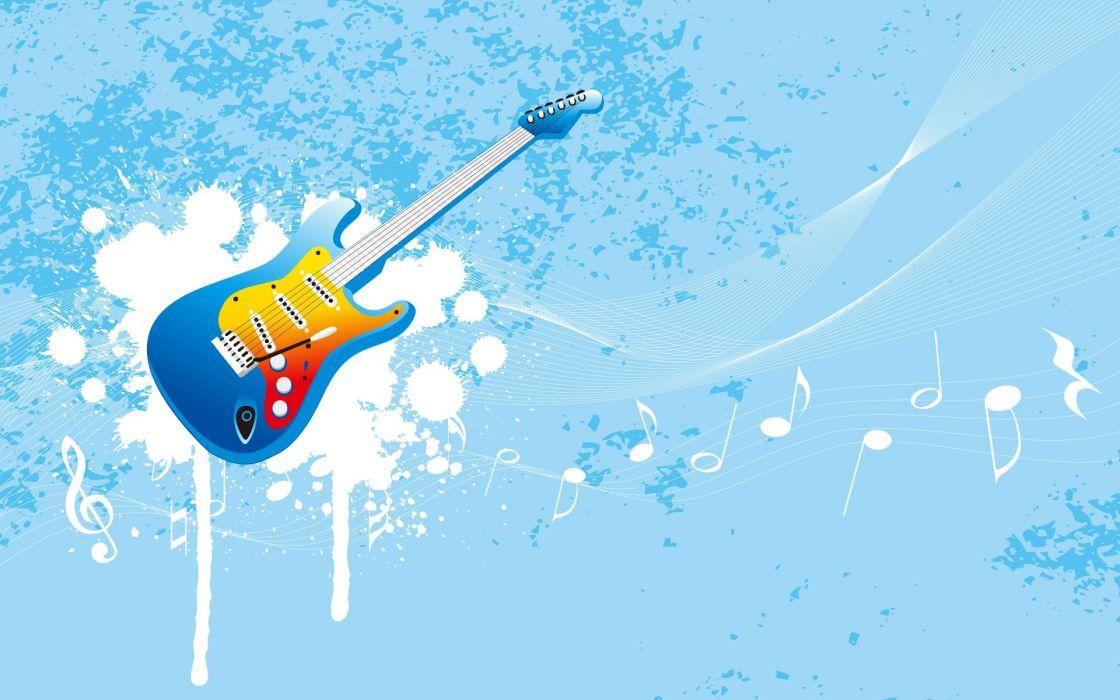guitars artwork wallpaper
