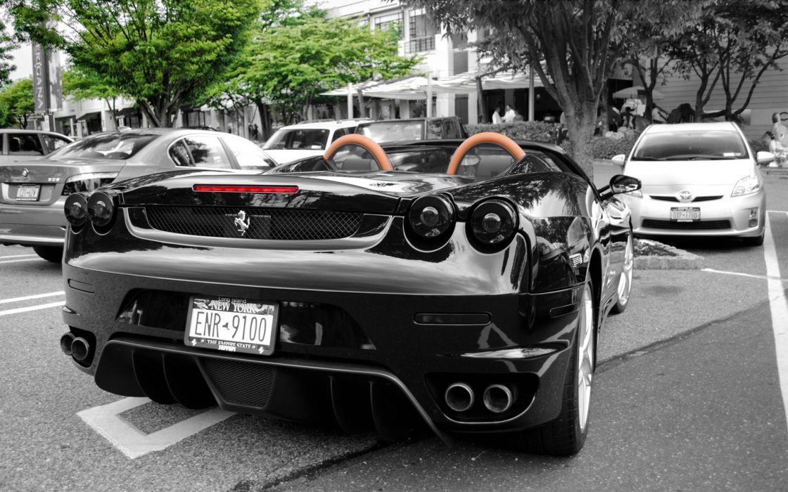 cars Ferrari vehicles Ferrari F430 wallpaper