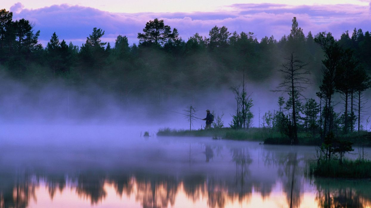 dawn Sweden wallpaper