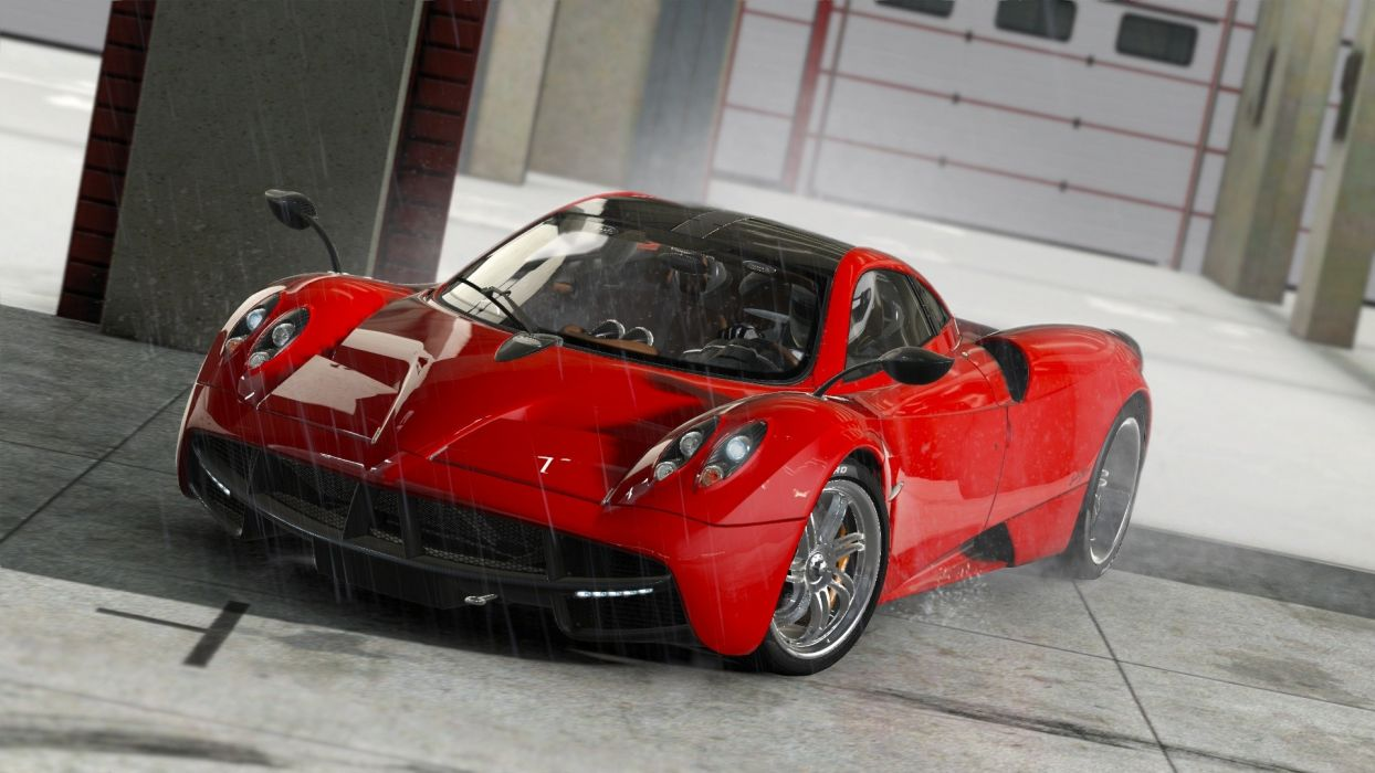 video games cars Pagani Huayra Project C_A_R_S wallpaper