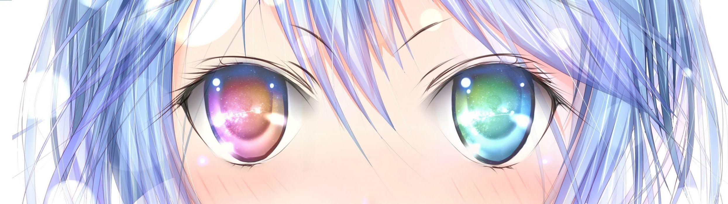 eyes anime Denpa Onna to Seishun Otoko Touwa Erio soft shading anime girls wallpaper