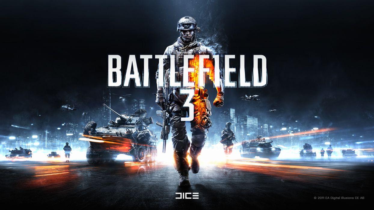 Battlefield dice EA Games wallpaper