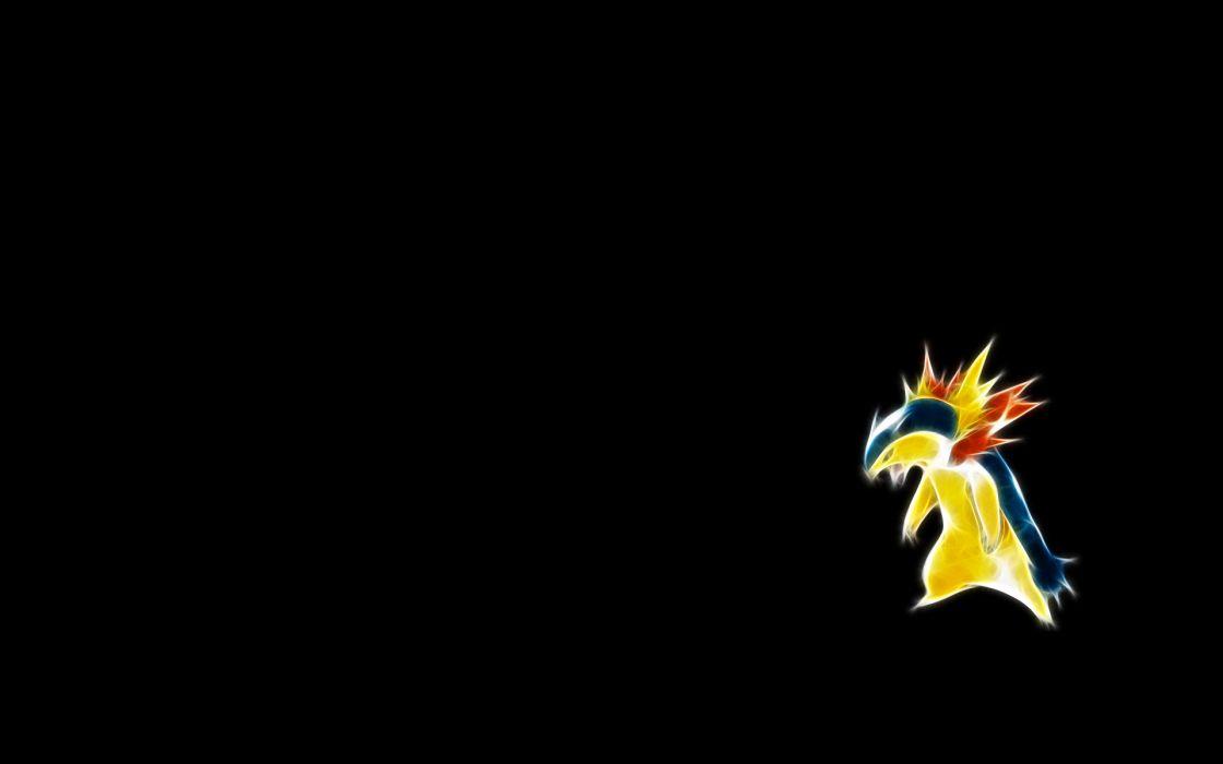 Pokemon simple background Typhlosion wallpaper