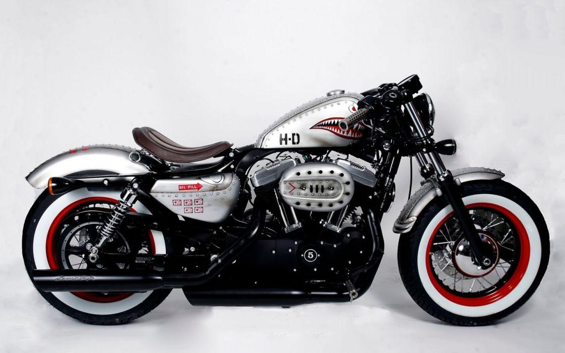 vehicles wheels motorbikes white background Harley Davidson wallpaper