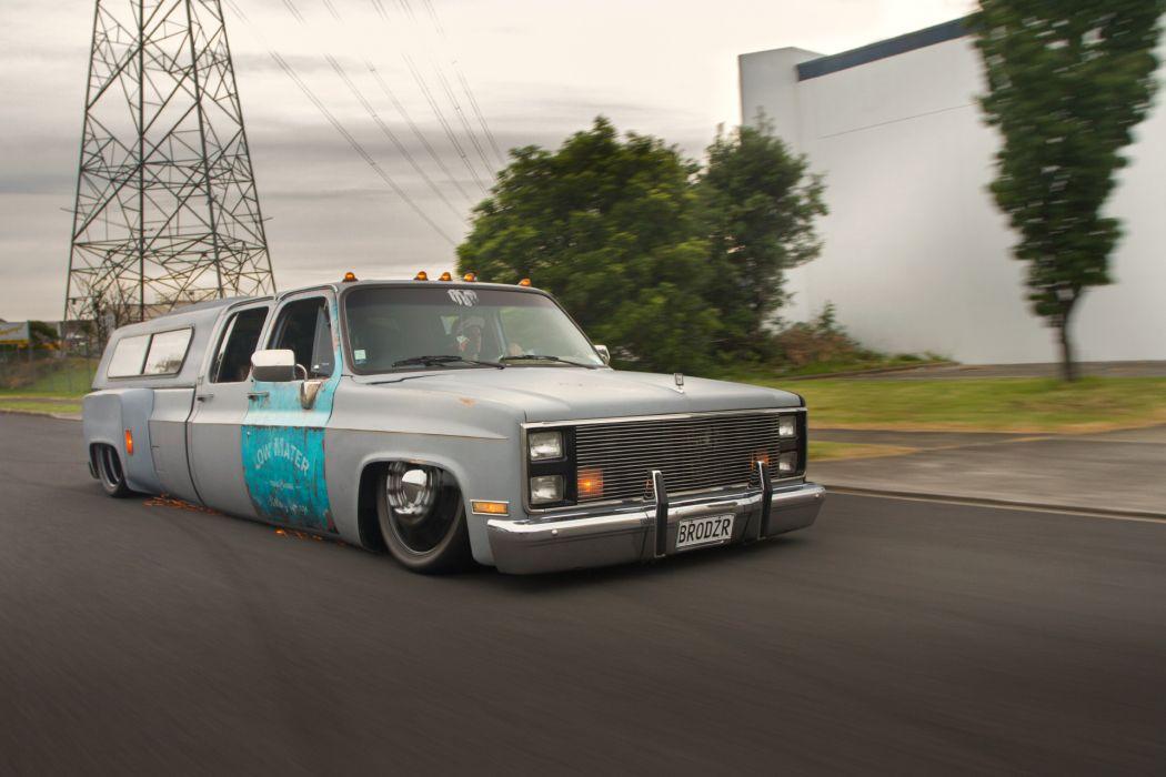 Chevrolet pickup lowrider custom   r wallpaper