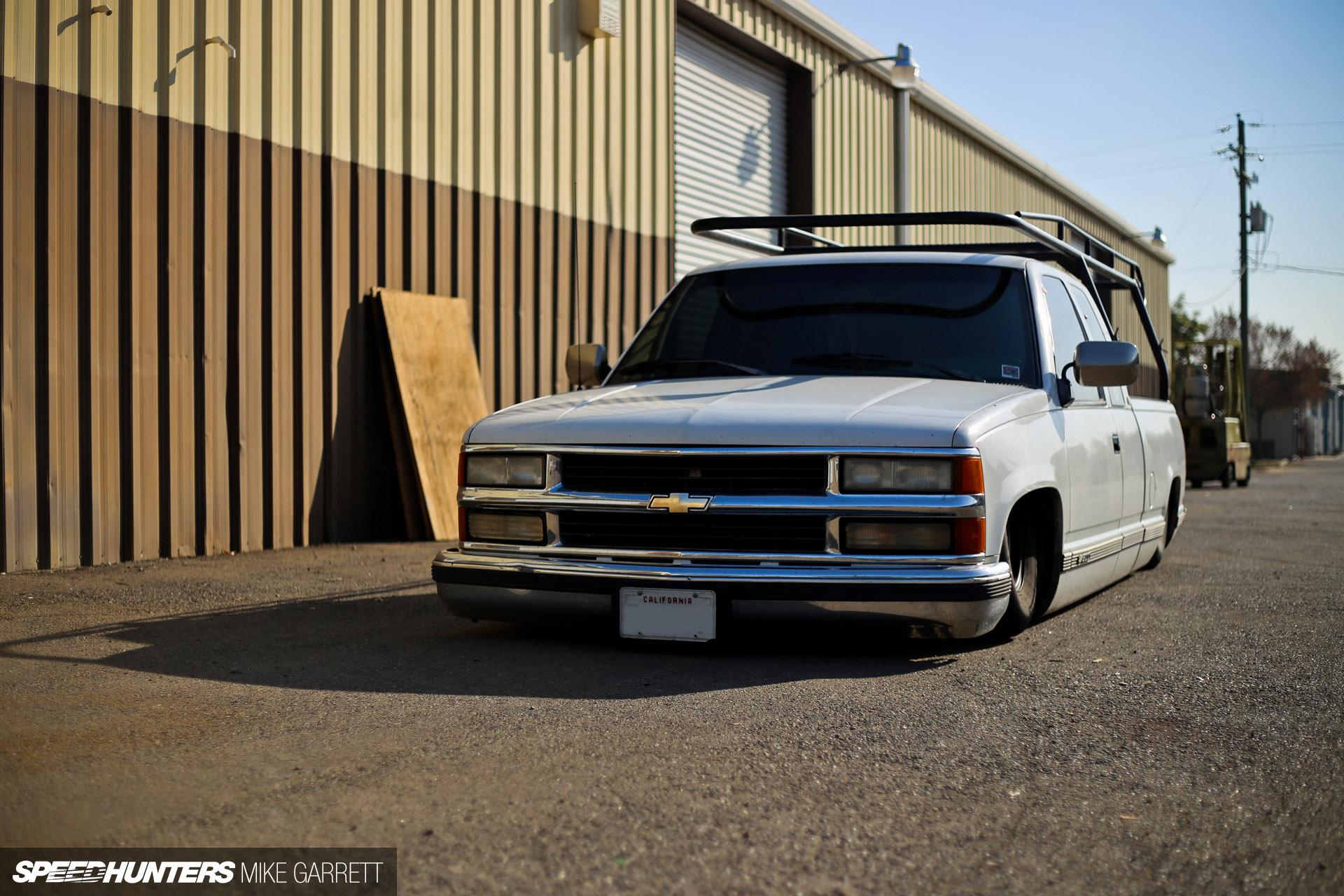 Chevrolet Silverado Pickup Lowrider Tuning T Wallpaper