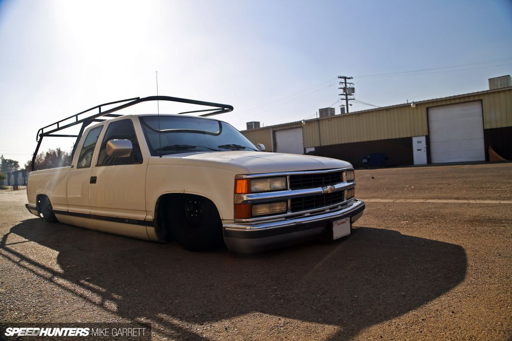 Chevrolet Silverado pickup lowrider tuning   g wallpaper