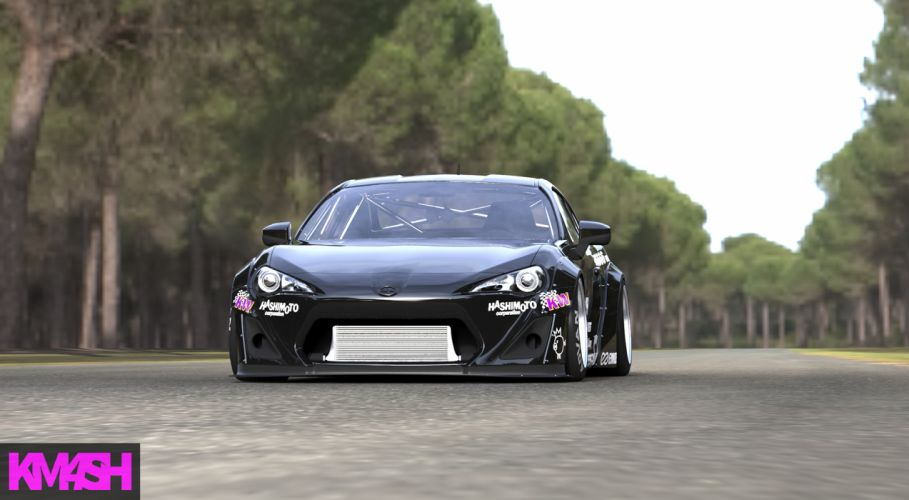 Toyota Zn6 tuning drift h wallpaper