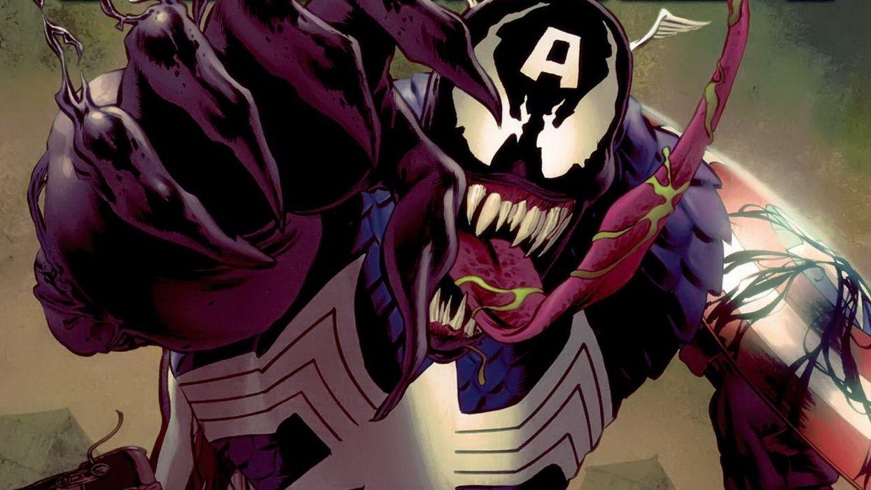 comics Venom Captain America villains Marvel Comics wallpaper