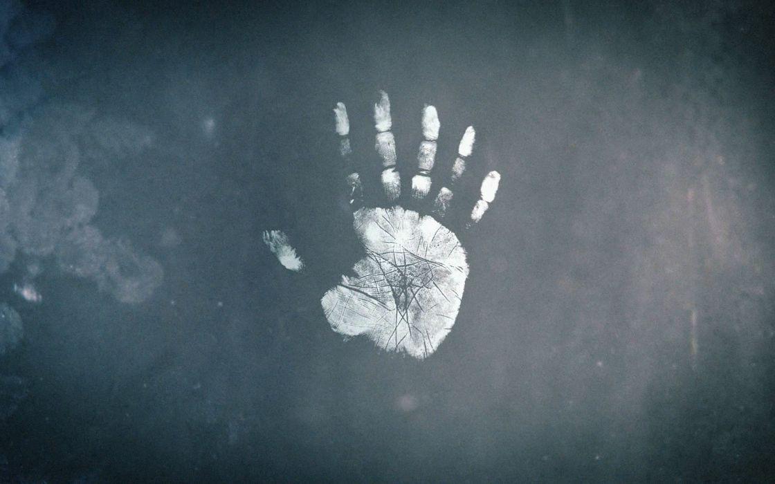 hands Fringe palm prints wallpaper