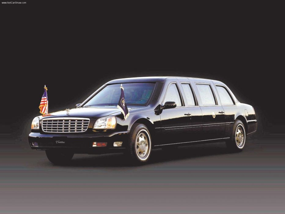 Cadillac DeVille Presidential Limousine 2001 wallpaper