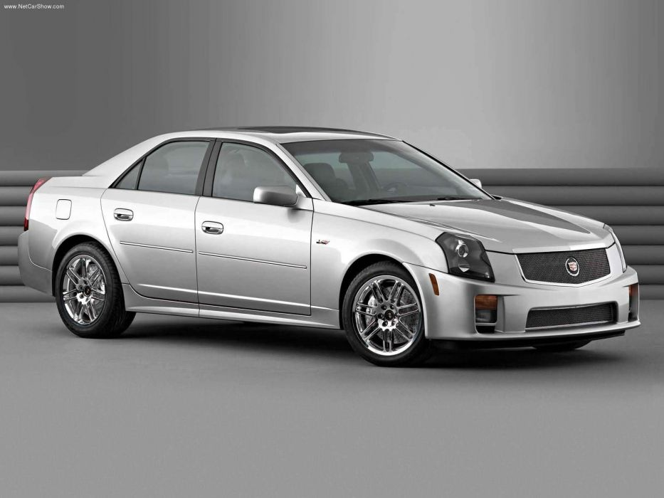 Cadillac CTSV with Accessories 2003 wallpaper