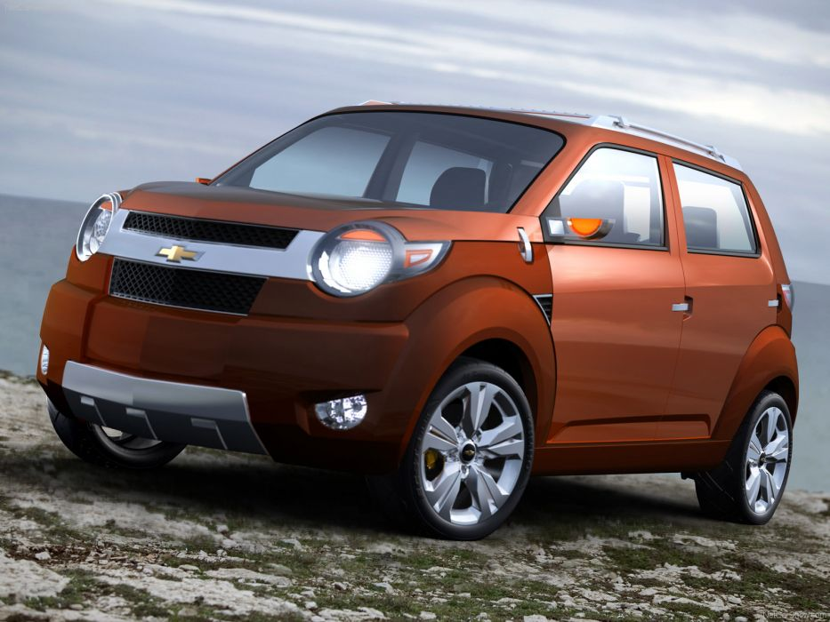 Chevrolet Trax Concept 2007 wallpaper