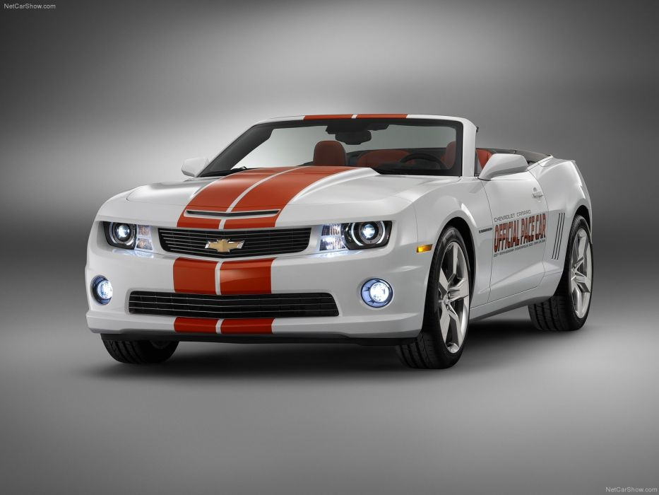 Chevrolet Camaro SS Convertible Indy 500 Pace Car 2011 wallpaper