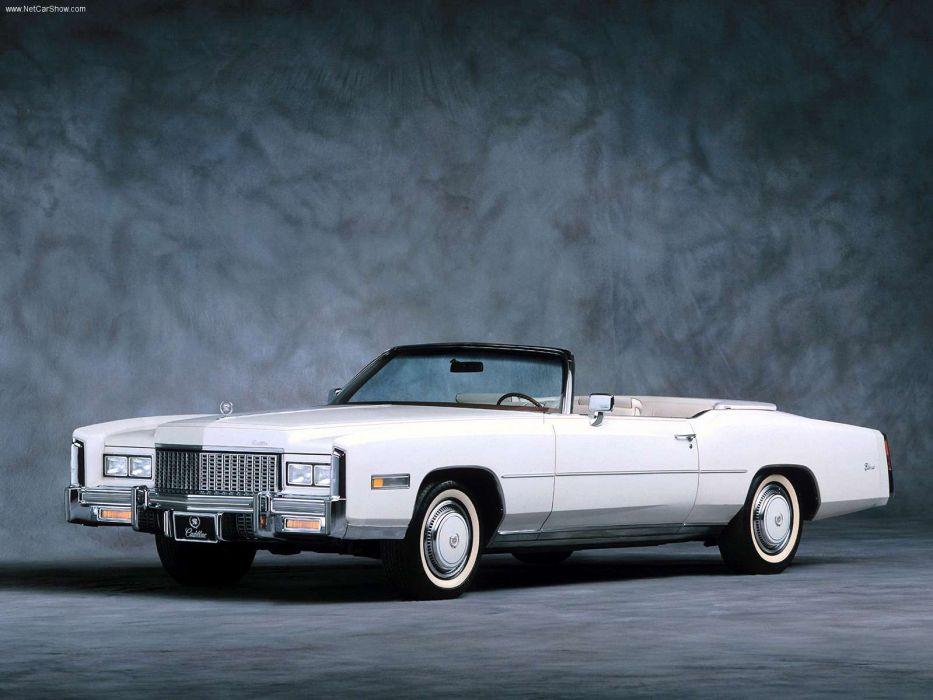 Cadillac Eldorado Convertible 1976 wallpaper