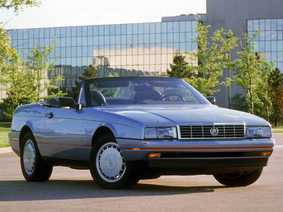 Cadillac Allante 1989 wallpaper