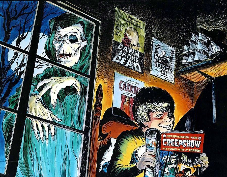 CREEPSHOW dark horror    d wallpaper