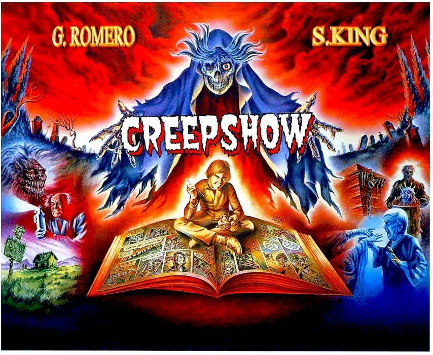 CREEPSHOW dark horror reaper skeleton skull poster    f wallpaper