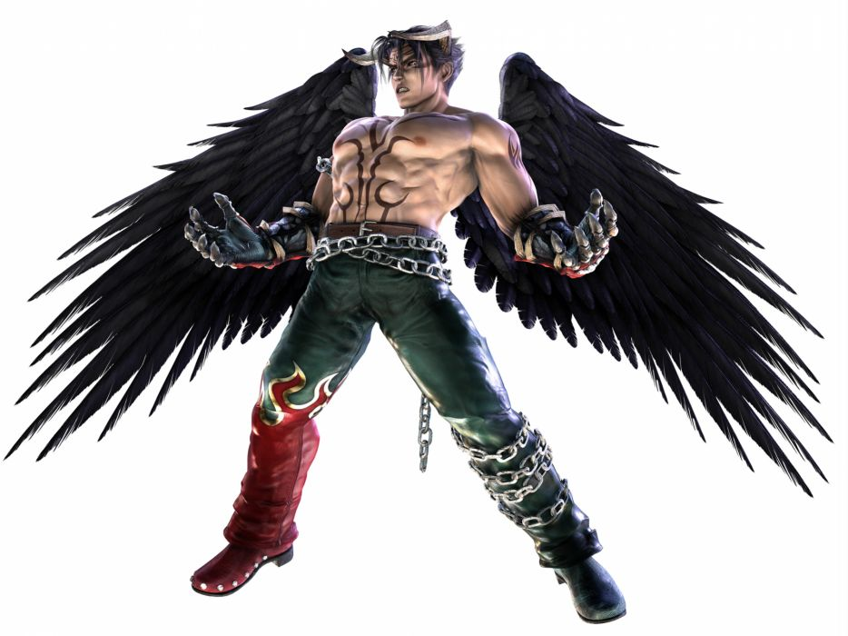 TEKKEN warrior angel demon fantasy    f wallpaper