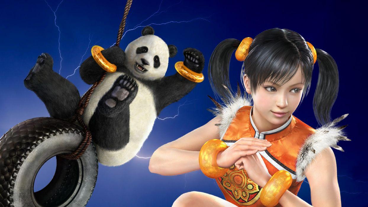 TEKKEN warrior sexy babe girl panda     g wallpaper