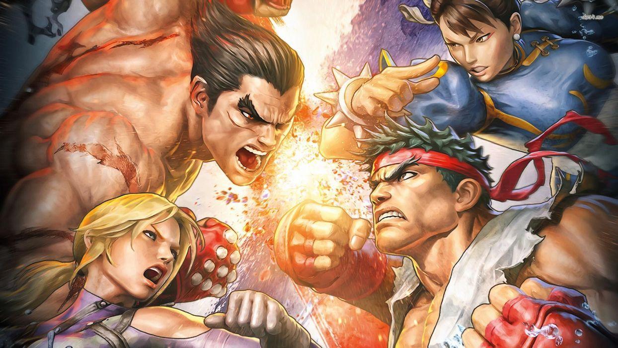 TEKKEN warrior Street Fighter battle    f wallpaper