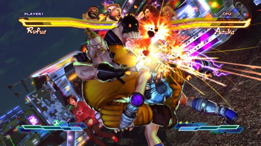TEKKEN warrior Street Fighter battle d wallpaper