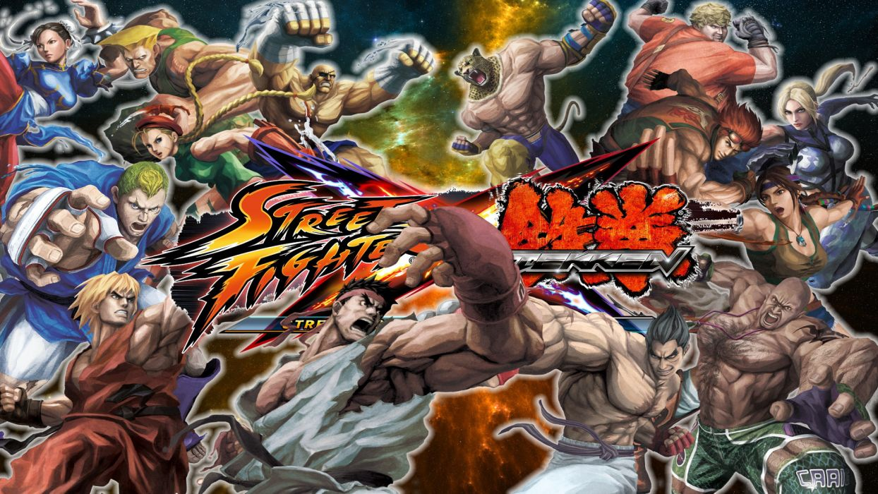 TEKKEN warrior Street Fighter poster  j wallpaper