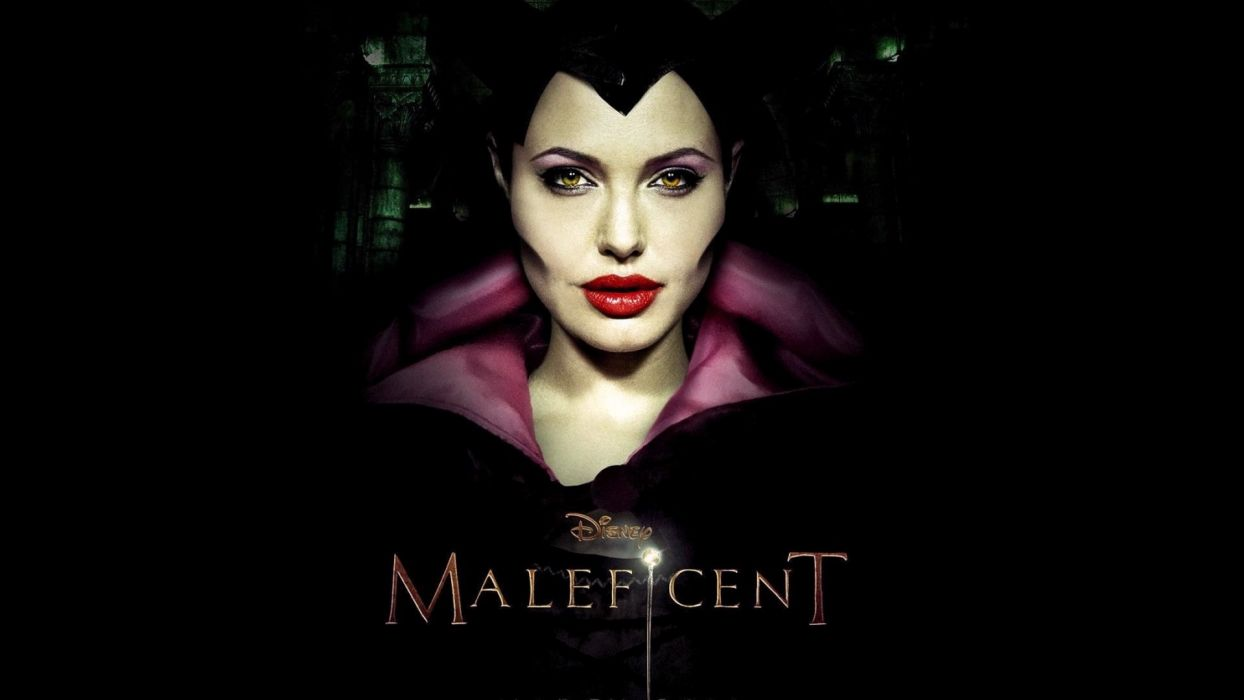 MALEFICENT fantasy disney angelina jolie poster  b wallpaper
