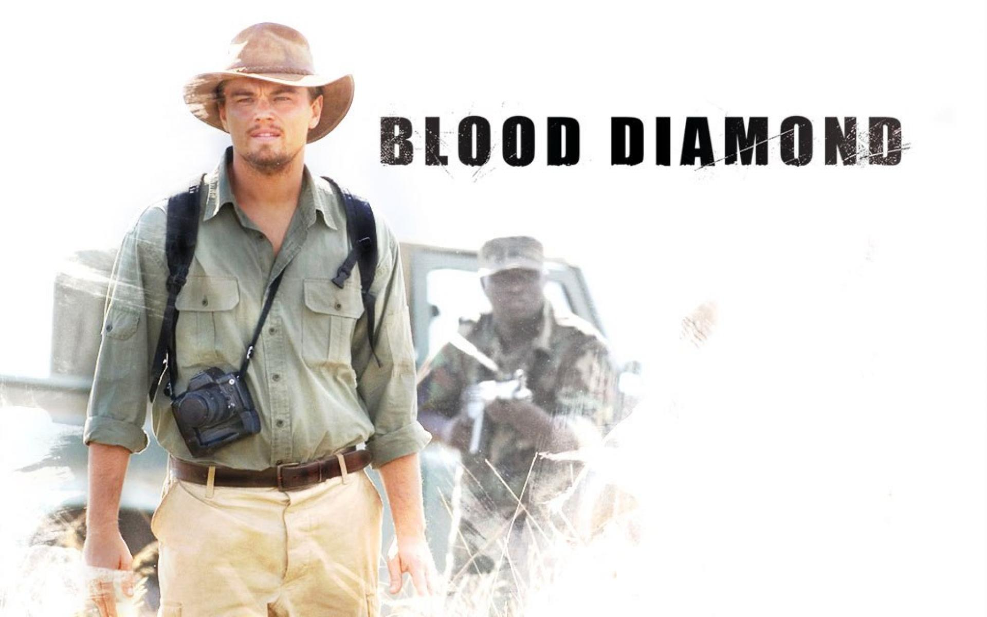 political review of blood diamond Author becky korman compares and contrasts the strengths and weaknesses of a nigerian (ezra) and american (blood diamond) film based on a similar subject: the consequences of civil war on.