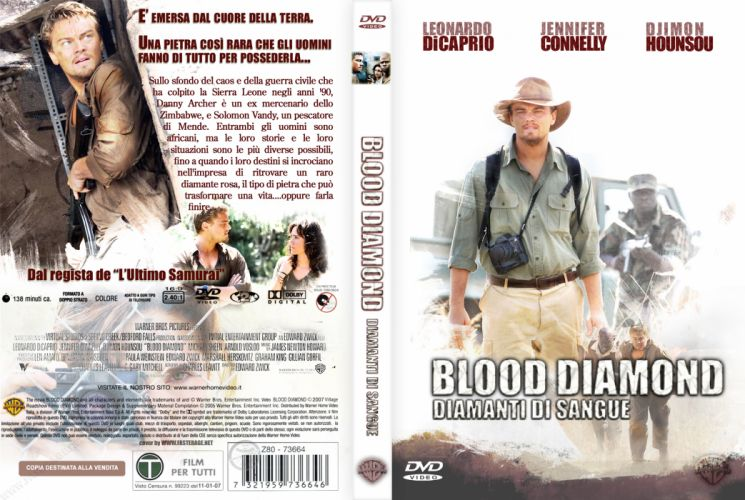 BLOOD DIAMOND political war thriller adventure drama poster f wallpaper