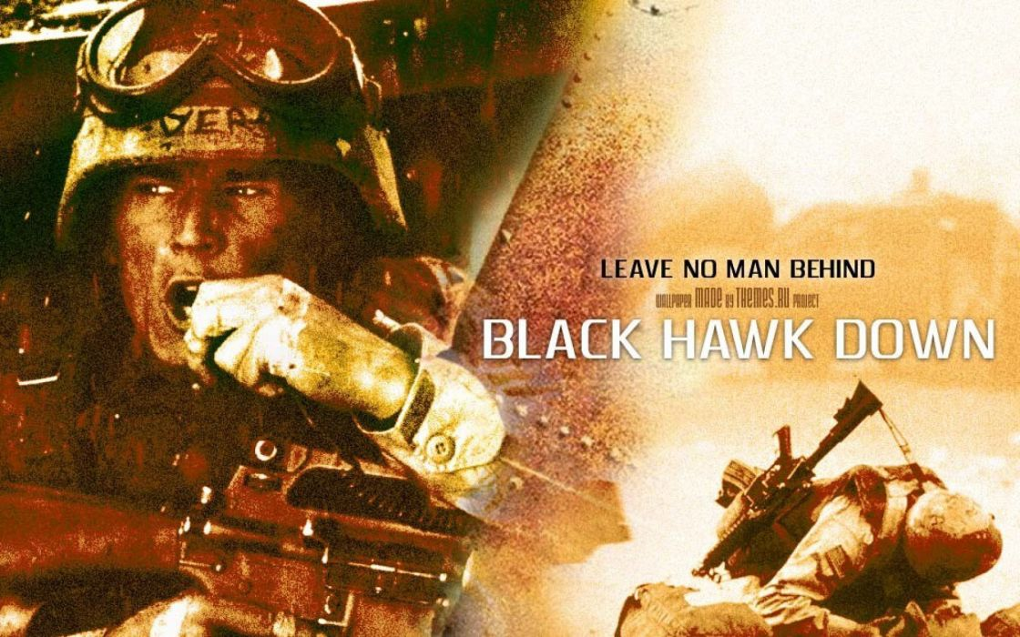 BLACK-HAWK-DOWN drama history war action black hawk down military poster  re wallpaper