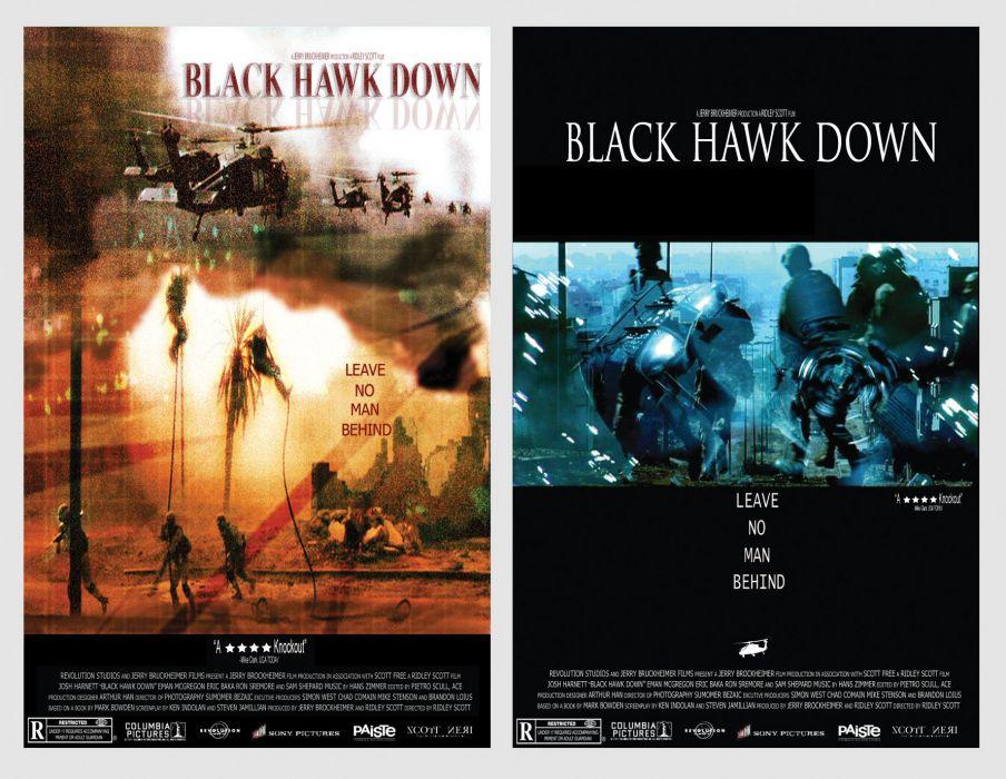 BLACK-HAWK-DOWN drama history war action black hawk down military poster  t wallpaper