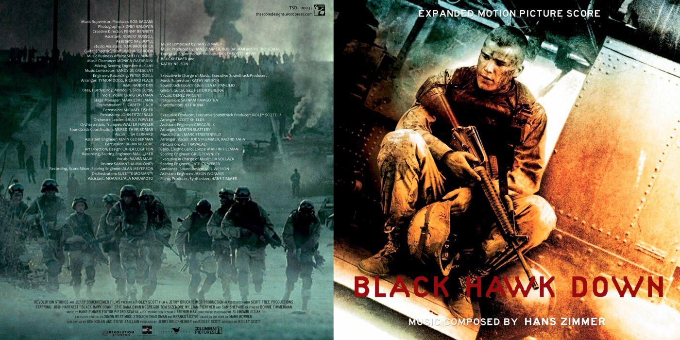 BLACK-HAWK-DOWN drama history war action black hawk down military poster music soundtrack wallpaper