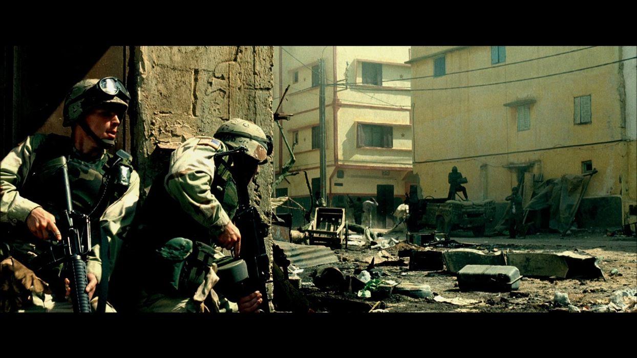 BLACK-HAWK-DOWN drama history war action black hawk down military soldier battle weapon gun    f wallpaper
