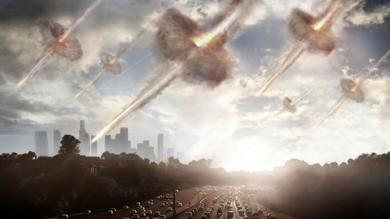 BATTLE LOS ANGELES action sci-fi drama apocalyptic city     g wallpaper