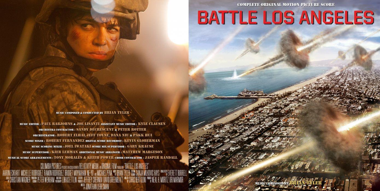 BATTLE LOS ANGELES action sci-fi drama poster    c wallpaper