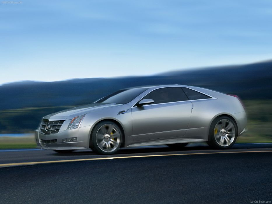 Cadillac CTS Coupe Concept 2008 wallpaper