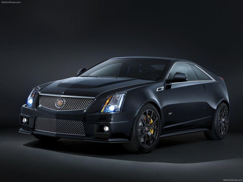 Cadillac CTS-V Black Diamond Edition 2011 wallpaper
