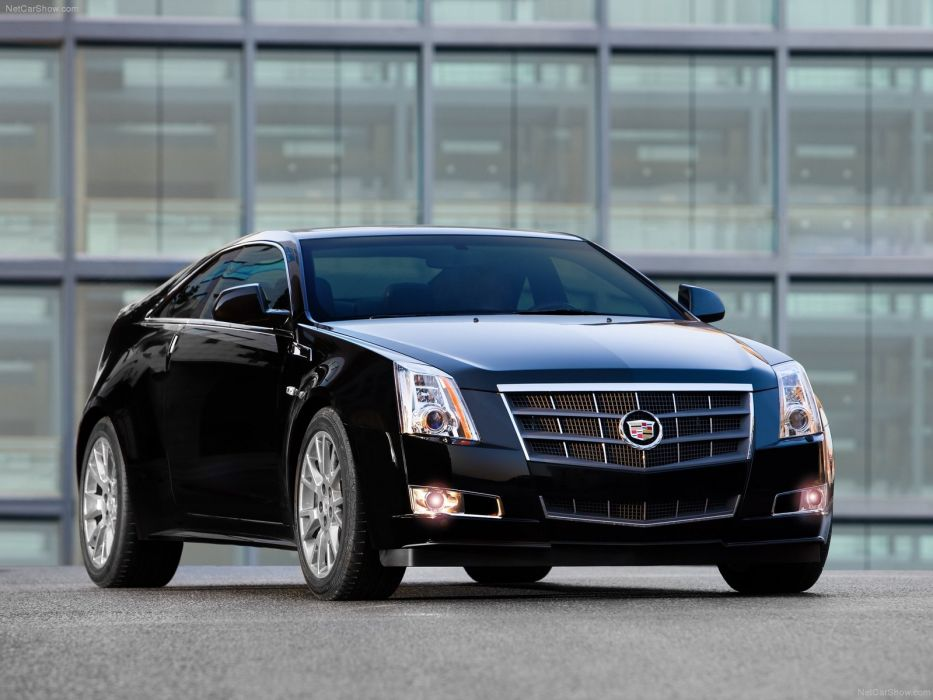 Cadillac CTS Coupe 2011 wallpaper