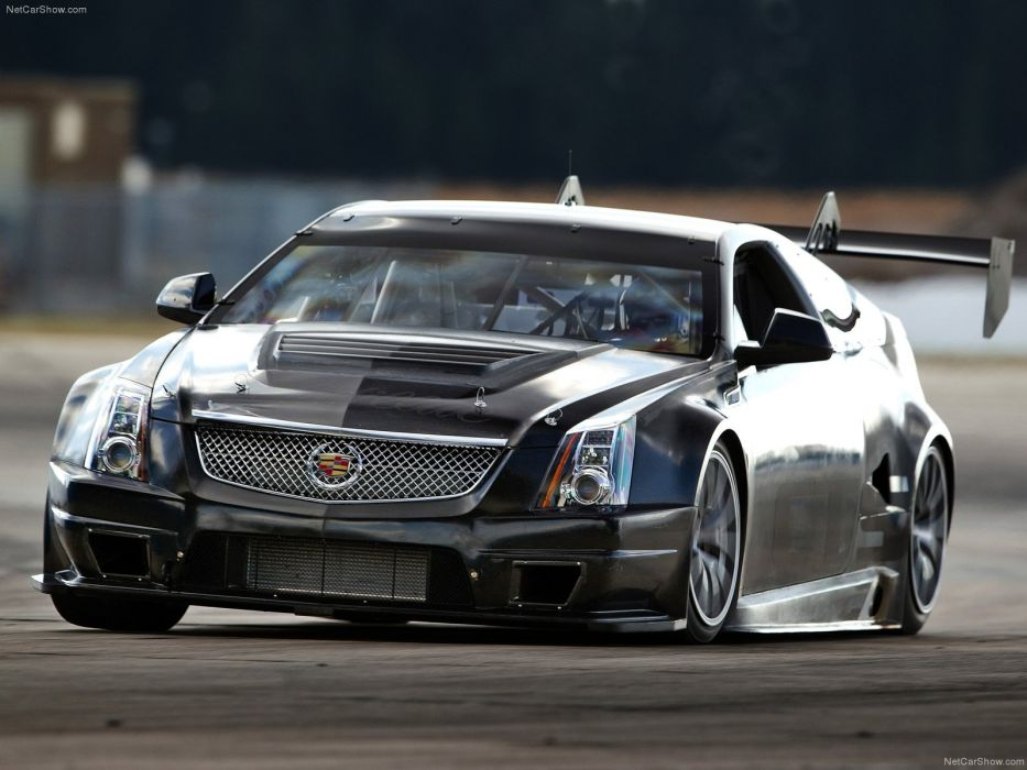Cadillac CTS-V Coupe Race Car 2011 wallpaper