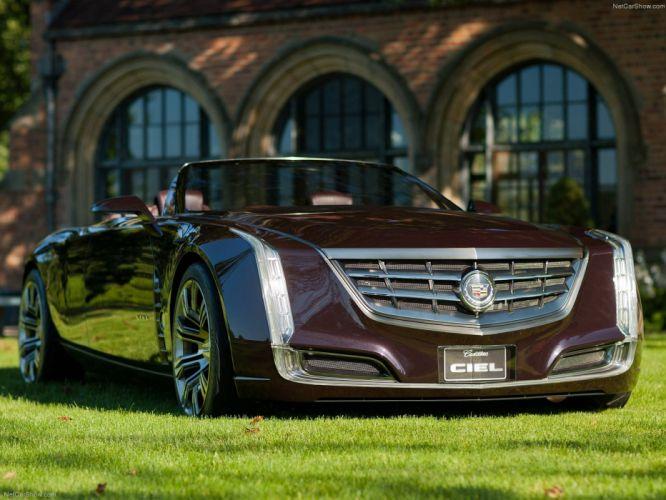 Cadillac Ciel Concept 2011 wallpaper