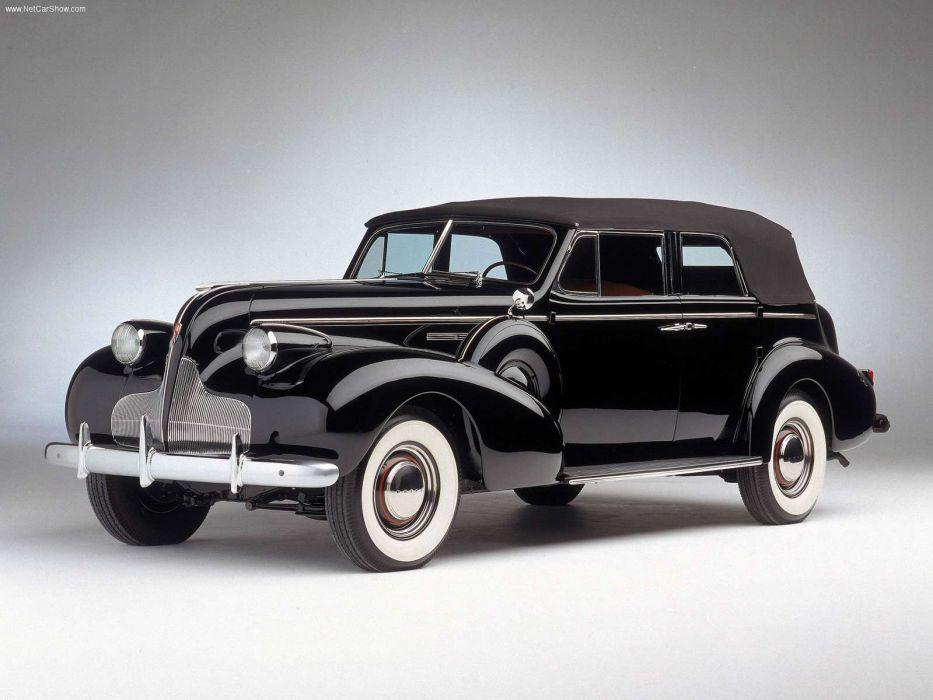 Buick Roadmaster 1939 wallpaper