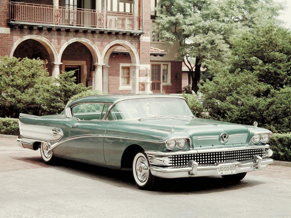 Buick Super Riviera Coupe 1958 wallpaper