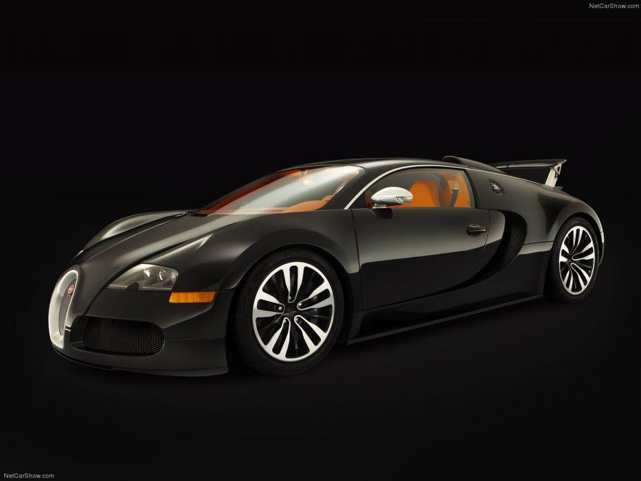 Bugatti Veyron Sang Noir 2008 wallpaper